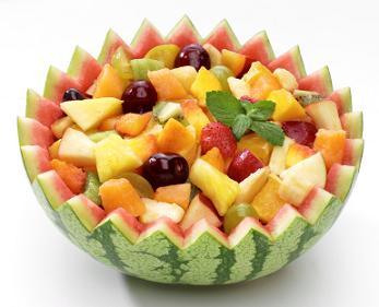 summer fruit salad juicy fruit