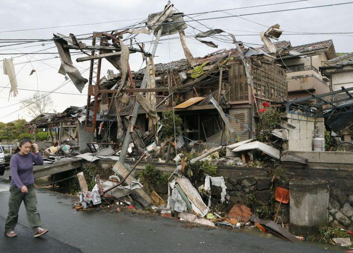 Deadly Tornado Hits Japan