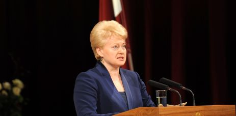 Picture: Lithuanian President: our country is open to LNG terminal negotiations