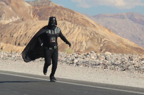 Darth Vader Has Appeared In Death Valley U S Baltic News