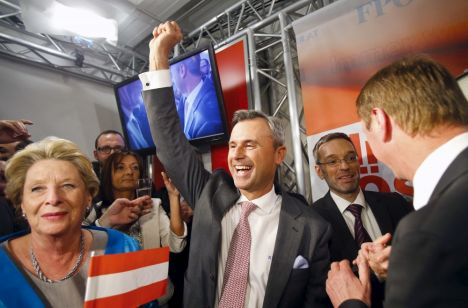 Austrian presidential election shows unexpected support to ...