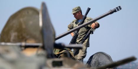 Russian military commences sudden check of combat readiness