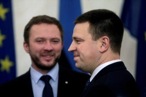 The coalition partners of Estonia's Centre Party, which is headed by the Estonian Prime Minister, have this week distanced themselves from charges brought against the ruling party for allegedly receiving illegal political donations.