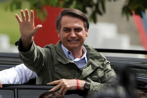 Brazil Elects Far-Right Populist Jair Bolsonaro
