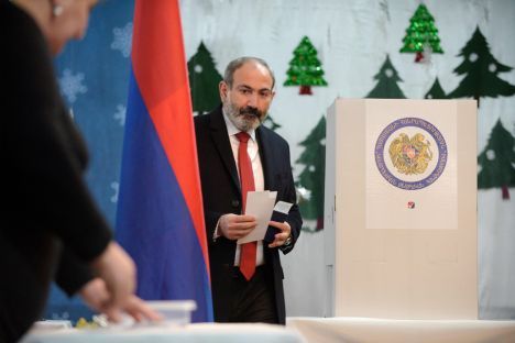 Armenia elections respected fundamental freedoms: OSCE