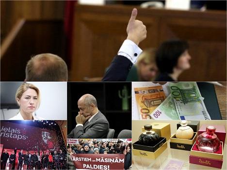 Latvia, Saeima, economy, budget 2017, film, award, Lielais Kristaps, Harmony, GKR, VID, accident, summary, recommended