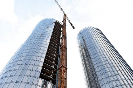construction, Z-Towers, Riga City Council