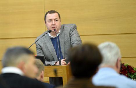 Ansis Ansbergs, waste management, Riga City Council, For Latvia's Development, opposition, Vjačeslavs Stepaņenko