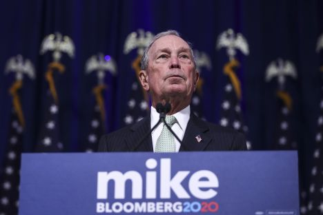 New York, Michael Bloomberg, Donald Trump, U.S. presidential election