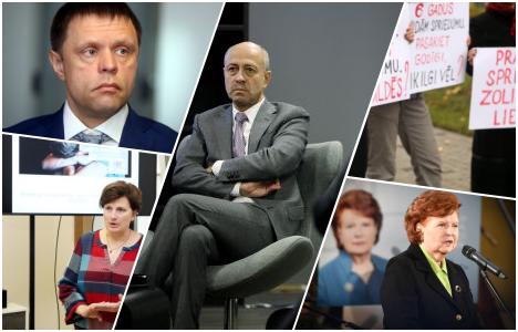Latvia, Riga, waste management, 13th Saeima, Lithuania, Estonia, NATO, benefits, wages, doctors, protest, Maxima, Zolitude