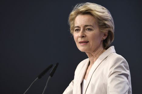 Ursula von der Leyen, European Commission, Brussels