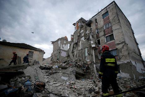 Albania, Eidi Rama, earthquake