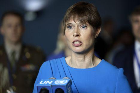 Kersti Kaljulaid, EKRE, Estonia