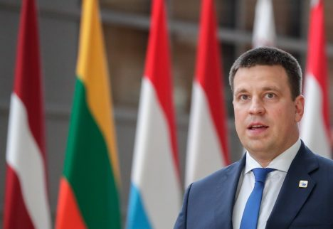 Jüri Ratas, Rail Baltica, Estonia
