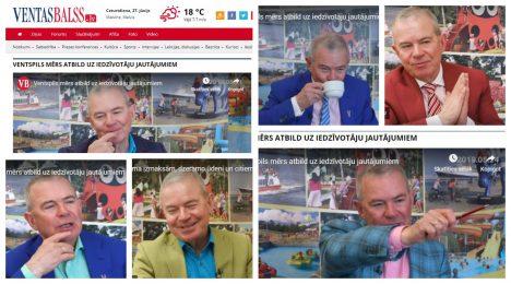 Aivars Lembergs, Ventas Balss, sanctions, municipality, funding, media, OFAC, corruption