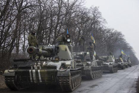 Ukraine, Russia, Donbas war