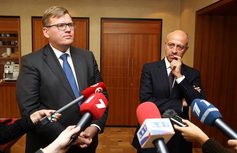 Juris Pūce, Oļegs Burovs, Riga City Council, dismissal, waste management