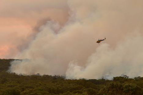 Australia, climate change, Sydney, bushfires