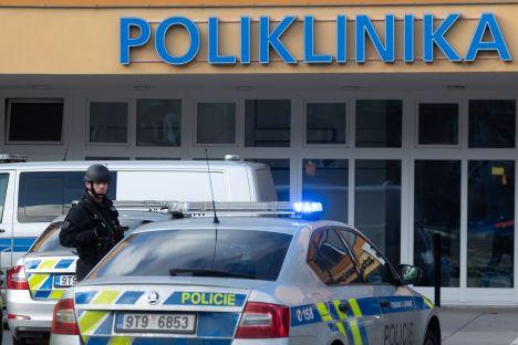 Ostrava, Czech Republic, gun attach, murder, hospital