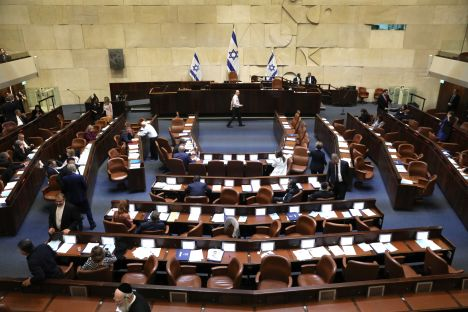 Israel, Knesset, early election