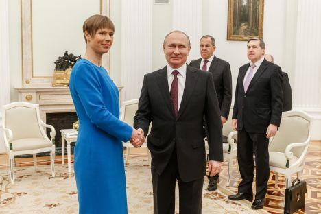 Vladimir Putin, Estonia, Russia, Kersti Kaljulaid, Jüri Luik