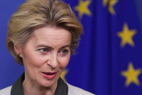 Ursula von der Leyen, climate change