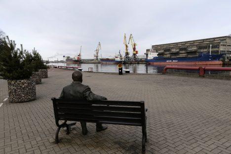 Ventspils Freeport, Latvia, Transport Minister, Tālis Linkaits, OFAC, Aivars Lembergs, sanctions