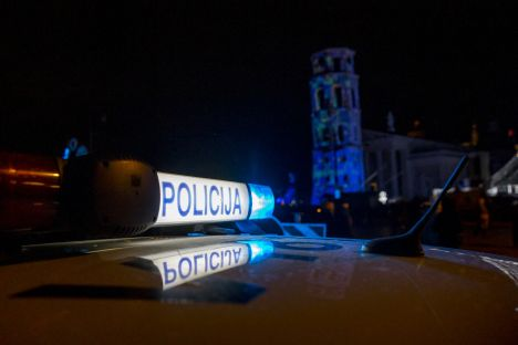 Lithuania, Vilnius, police