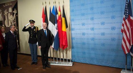 Estonia, U.S., UN Security Council