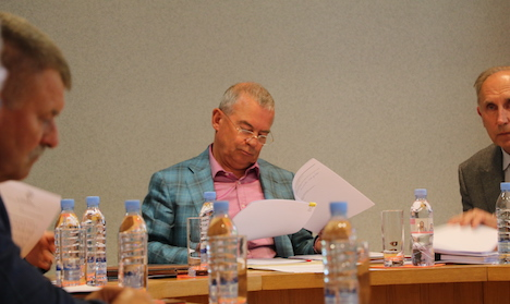Aivars Lembergs, Aivis Landmanis, sanctions, USA, Ventspils City Council, budget