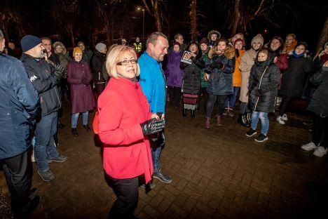 school strike, Estonia, Kiviõli, Heidi Uustalu