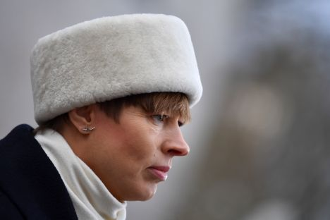 Estonia, Kersti Kaljulaid, climate, working online, Antarctic