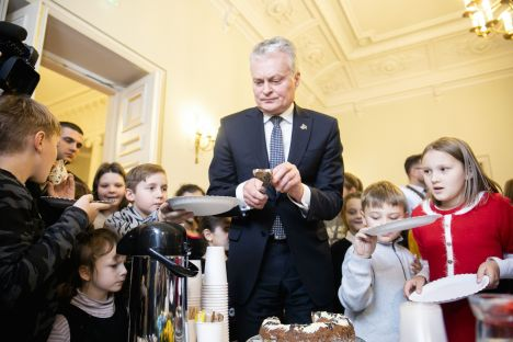 New Year's address, Lithuania, equality, justice, Gitanas Nausėda