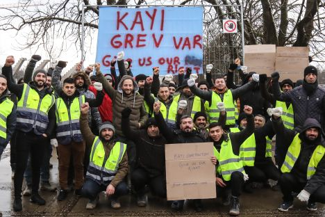 strike, vandalism, week in Lithuania, Vilnius, government