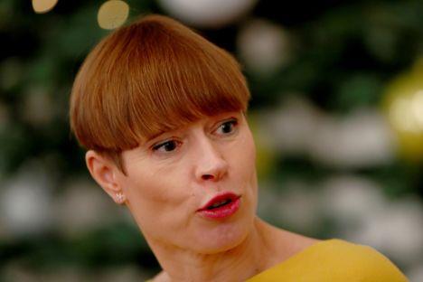 Kersti Kaljulaid, Estonia, New Year