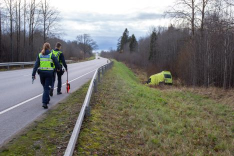 Estonia, drunk driving, traffic police, intoxication, traffic accident