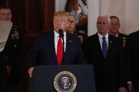 Iraq, Iran, U.S., missiles, Donald Trump