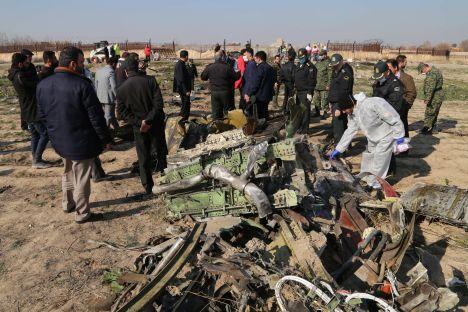 Iran, Ukraine, plane crash