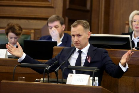 Aldis Gobzems, KPV LV, Saeima, party, foundation, plans