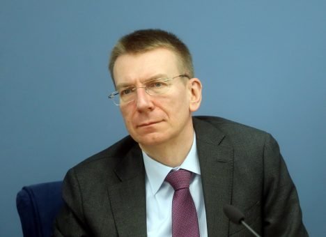 Edgars Rinkēvičs, Latvia, Germany, Peter Altmaier, cooperation, Rail Baltica
