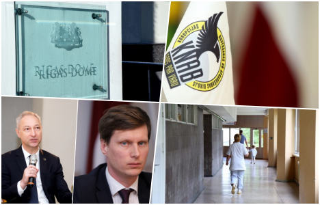 Latvia, Lithuania, Estonia, summary, KNAB, conflict, Riga City Council, sanctions, China, RTAB, corruption, Maxima, recommended