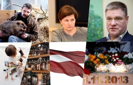 Latvia, SAR, Denmark, Kristīne Misāne, birthrates, CSP, Maxima tragedy, Ivars Sergets, Oļegs Burovs, Ints Ķuzis, New Unity, zoo, tax, alcohol, recommended