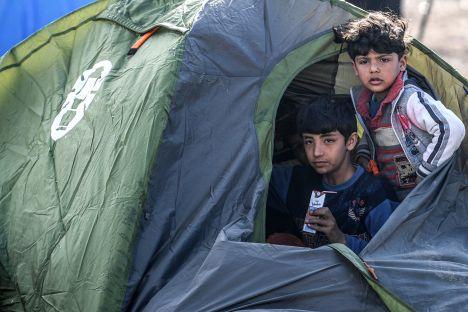 migration, Estonia, Syria, Turkey, Greece