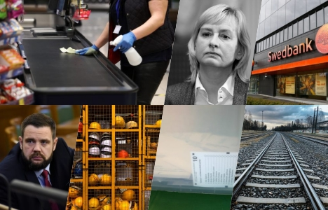 Latvia, Covid-19, coronavirus, Latvian Railway, snap elections, KPV LV, Jānis Vitenbergs, Altum, state support, Juta Strīķe, KNAB, Swedbank, labour, Riga, recommended