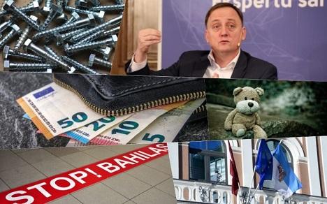 Latvia, economy, Covid-19, Bank of Latvia, debts, wages, preventive measures, funding, Riga City Council, summary, orphans, adoption, IUB, recommended