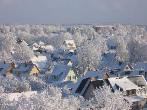 winter, warm winter, no winter, snow, cold, ice, Estonia, climate change