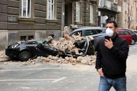Croatia, earthquake, Zagreb, COVID-19