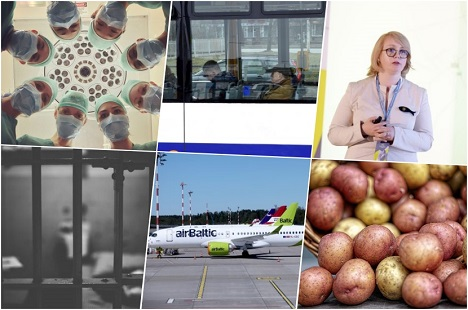wages, doctors, Latvia, Eurostat, exports, public transports, MPC, fraud, sentence, court, VID, Staet Land Service, management, airBaltic, funding, recommended