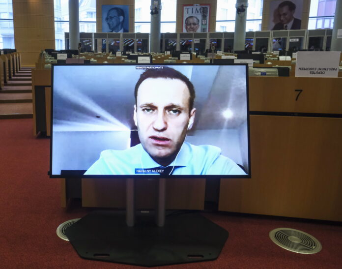 Alexei Navalny, prison, human rights, MEPs, EU sanctions, constitution, Russian, opposition, Vladimir Putin