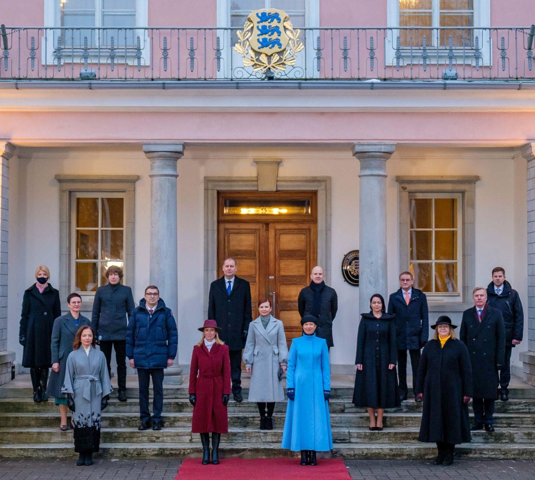 Igaunija, Kaga Kalas, Kristi Kalgolida, valdība, liberāļi, politika, parlaments